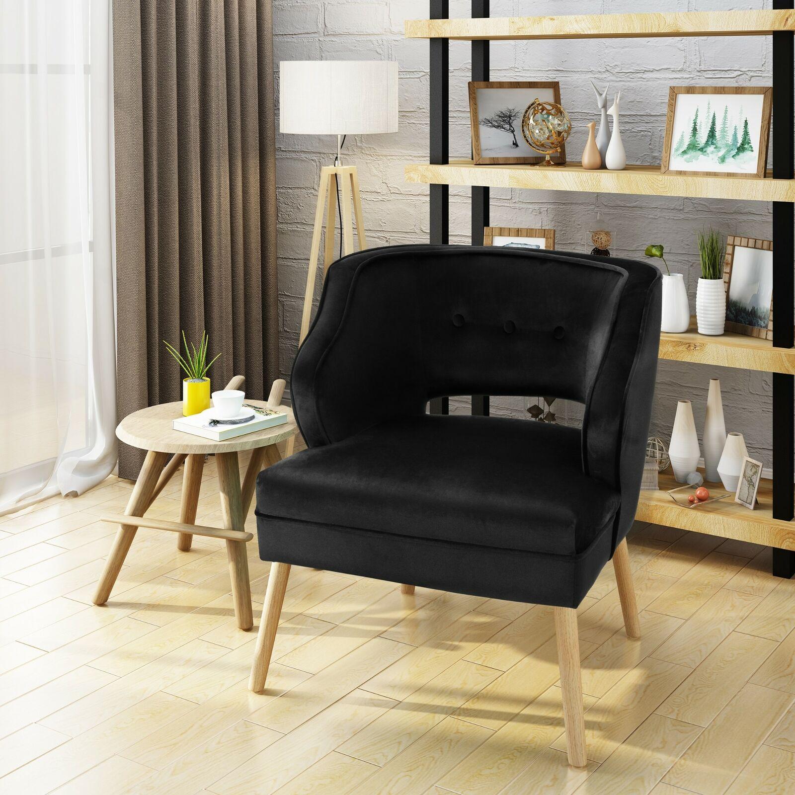 Mid Century Velvet Accent Chair For Sale Online Ebay