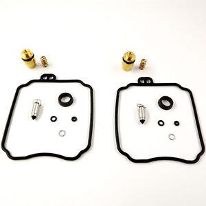 2x Carburetor Repair Rebuild Kits for Yamaha XV250 Virago