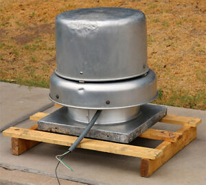 details about greenheck gb 90 4 x centrifugal roof exhaust fan