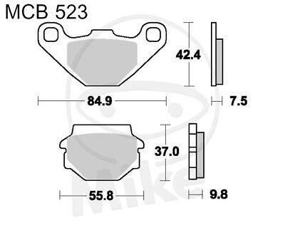 TRW Lucas Brake Pads MCB523 Rear Aprilia Rx 125