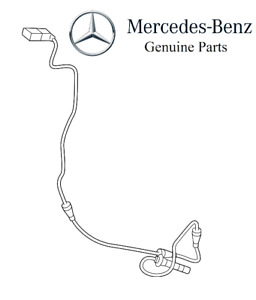 For Mercedes W213 C300 4Matic Front Driver Left ABS Sensor