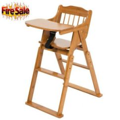 Restaurant High Chair With Tray Small Reclining Chairs 2019 Baby Bamboo Stool Infant Feeding Children Toddler Image Is Loading