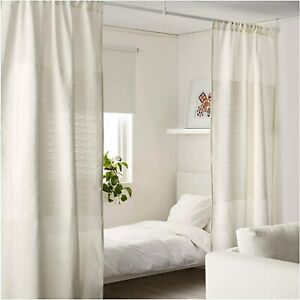 ikea papyrussav room divider curtain