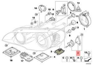 Genuine BMW X5 E70 X3 E83 Headlight Leveling Motor Repair