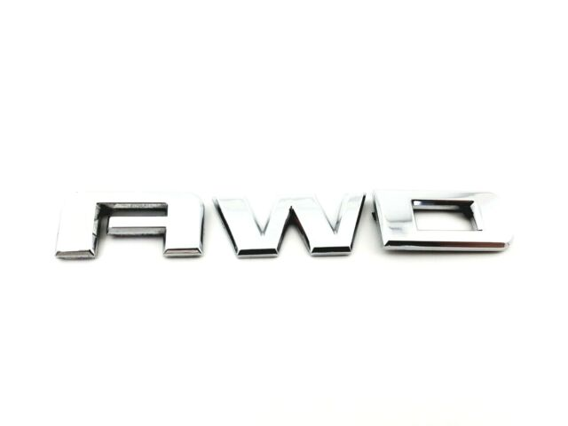 2007-2017 GMC ACADIA AWD REAR EMBLEM BADGE SYMBOL LOGO W