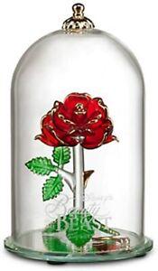 Rose De La Belle Et La Bete : belle, DISNEY, éternelle, Belle, Bête, Verre, Arribas, Brothers