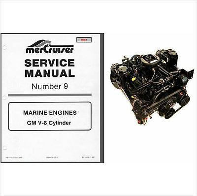 1985-1986-1987-1988 MerCruiser # 9 GM V-8 Marine Engines