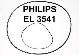 SET RIEMEN PHILIPS EL3541 TONBANDMASCHINE EL 3541 EXTRA