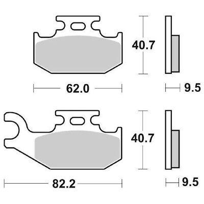 Ms-73a59ef324 Pill brake Ant. DX SBS 767si 05 Traxter XT