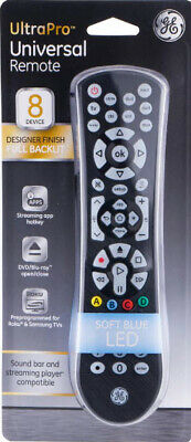 Ge 8 Device Universal Remote Codes List : device, universal, remote, codes, Ultra, Universal, Device, Remote, Control, -Light, -Easy, Programing