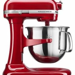 Kitchen Aid 6000 Hd Professional Home Appliances Kitchenaid Ksm6573ce 325w Stand Mixer Red Ebay