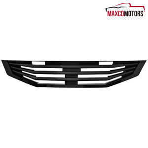 For 2008 2009 2010 Honda Accord Coupe 2Dr Black Front