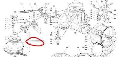 HONDA gearbox drive belt HYDRO HF2218H HF2417H HF2620H
