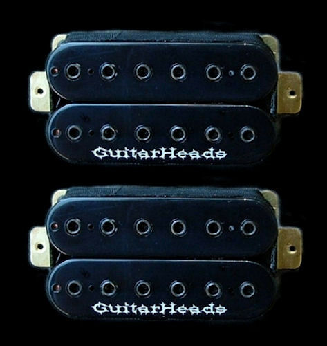 Marvelous Guitarheads Z Bucker Humbucker Pickups Bridge Neck Set Of 2 Wiring Cloud Hisonuggs Outletorg