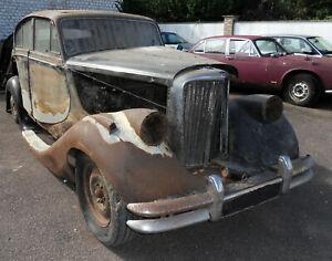 Jaguar MkV Restoration Project. Jaguar Mk5 Barn Find. 3.5L Jaguar Mk V