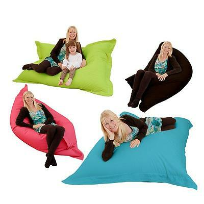 giant xxxl indoor bean bag 4 in 1 floor cushion pillow gaming cotton bean bag ebay