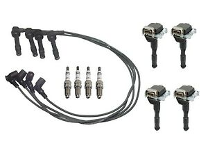 For BMW E36 318is 1992-93 Bosch Ignition Tune Up Kit Coils
