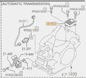 Genuine Mazda 3 Automatic Transmission Control Module OE