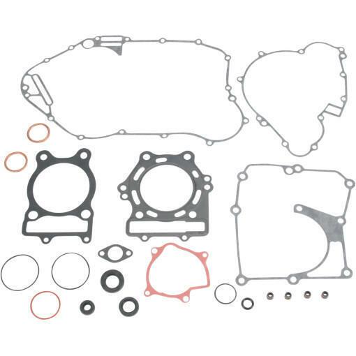 Moose Complete Gasket Set w/Oil Seals Fits Kawasaki KLF