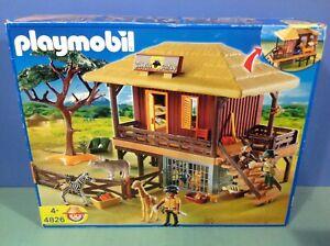 details sur o4826 playmobil grande maison safari animaux ref 4826 en boite complete