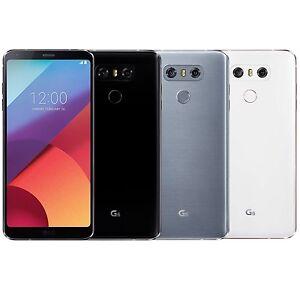 """LG G6 H870DS 64GB (FACTORY UNLOCKED) 5.7"""" QHD Dual Sim - Black White Platinum"""