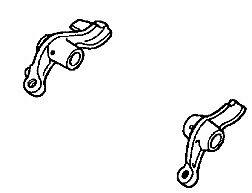 HONDA OEM EXHAUST ROCKER ARM SET 2000-2007 XR650R 14441