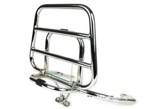 Chrome Rear Fold Down Rack To Fit Vespa LX LXV S 50 125