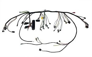 1966 Ford Mustang Under-Dash Harness w/Premium Fuse Box