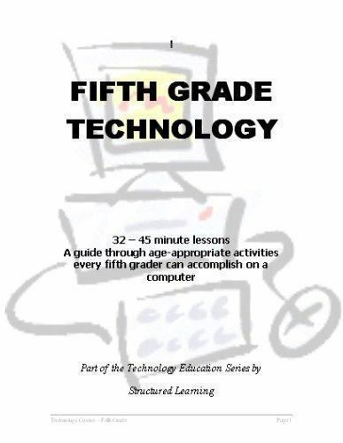 Fifth grade Technology : 32 lessons every fifth grader