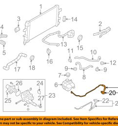 saturn gm oem 2008 astra 1 8l l4 radiator inlet pipe 25192905 for sale online [ 1500 x 1197 Pixel ]