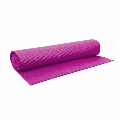 large rembourre yoga et pilates exercice gym tapis caoutchouc nitrile mousse avec sangle de transport sports vacances fitness athletisme yoga