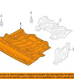 nissan oem 03 09 350z splash shields lower cover 75892cd00a for sale 03 350z parts diagram engine covers [ 1500 x 1197 Pixel ]