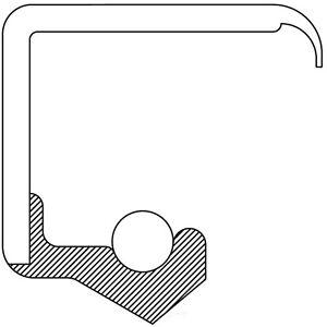 Manual Trans Input Shaft Seal fits 1975-1976 Triumph TR7