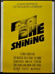 details about the shining 1980 original 30x40 movie poster jack nicholson stanley kubrick