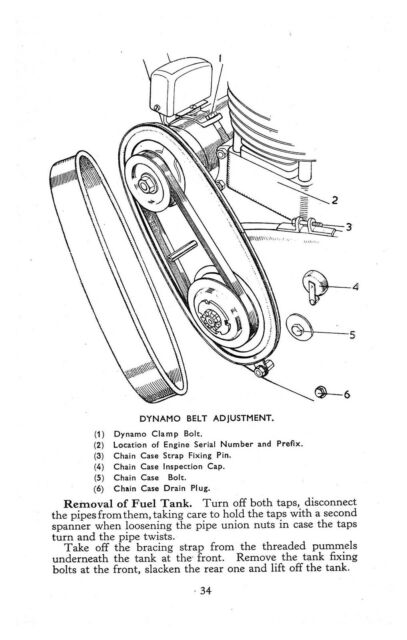 VELOCETTE Workshop Manual MAC 1956 1957 1958 1959 and 1960