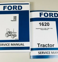 ford 1620 tractor service repair shop manual technical factory ford 871 tractor specs ford 1620 tractor [ 1600 x 1112 Pixel ]