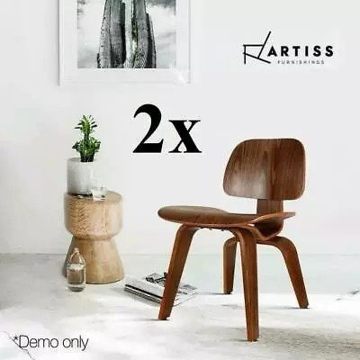 retro cafe dining chairs small club chair slipcovers 2x lounge wooden walnut