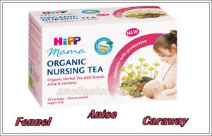 HIPP Mama 100% Organic NURSING TEA Fennel Anise Supports ...