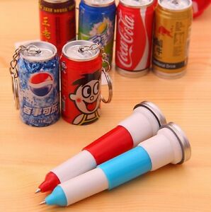 1pcs Novelty Child Telescopic Ball Point Can Drink
