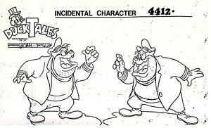Disney DUCKTALES Animation Production Studio Copy PETE
