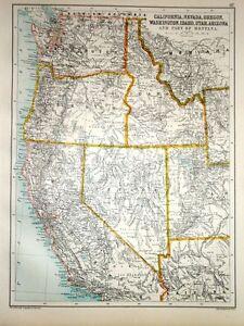Map Of Utah And Nevada : nevada, CALIFORNIA, NEVADA, OREGON, WASHINGTON, IDAHO, ARIZONA, MONTANA