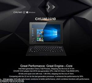 """10.1"""" Chuwi Hi10 Win 10 + Android 5.1 Ultrabook Tablet PC Z8300 4G+64G WiFi HDMI"""