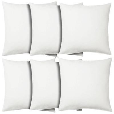 16x16 throw pillow insert euro sham