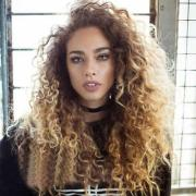 thick afro hair wig brown long