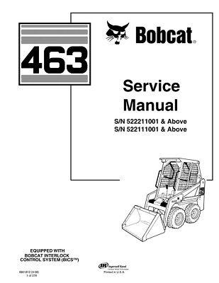 New Bobcat 463 Skid Steer Loader 2006 Edition Repair