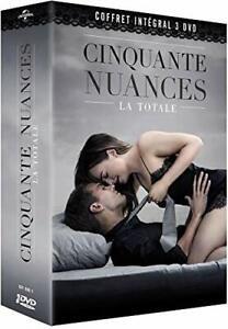 50 Nuances De Grey Integral Film : nuances, integral, Cinquante, Nuances, L'intégrale, Coffret, Films, Nuance