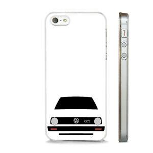 VW MK2 GOLF GTI PHONE ART CLEAR CASE FITS IPHONE 4 4S 5 5S