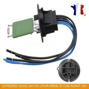 details sur peugeot 307 chauffage ventilateur controle resistance cable et broche 6450jp