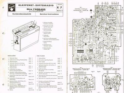 Blaupunkt Suitcase Radio Riviera omnimat 7656800 wiring