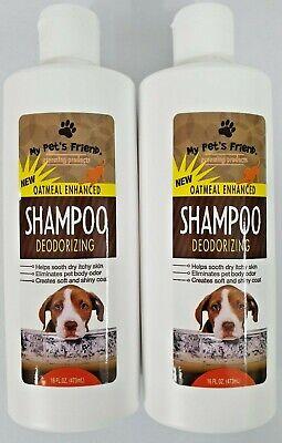 My Pets Friend Shampoo : friend, shampoo, Pet's, Friend, Oatmeal, Enhanced, Deodorizing, Shampoo